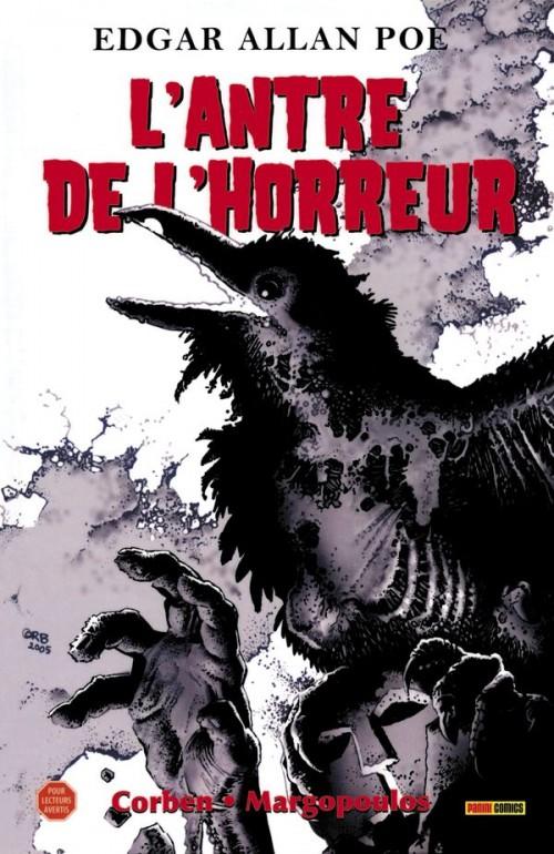 Couverture de L'antre de l'horreur - L'Antre de l'horreur
