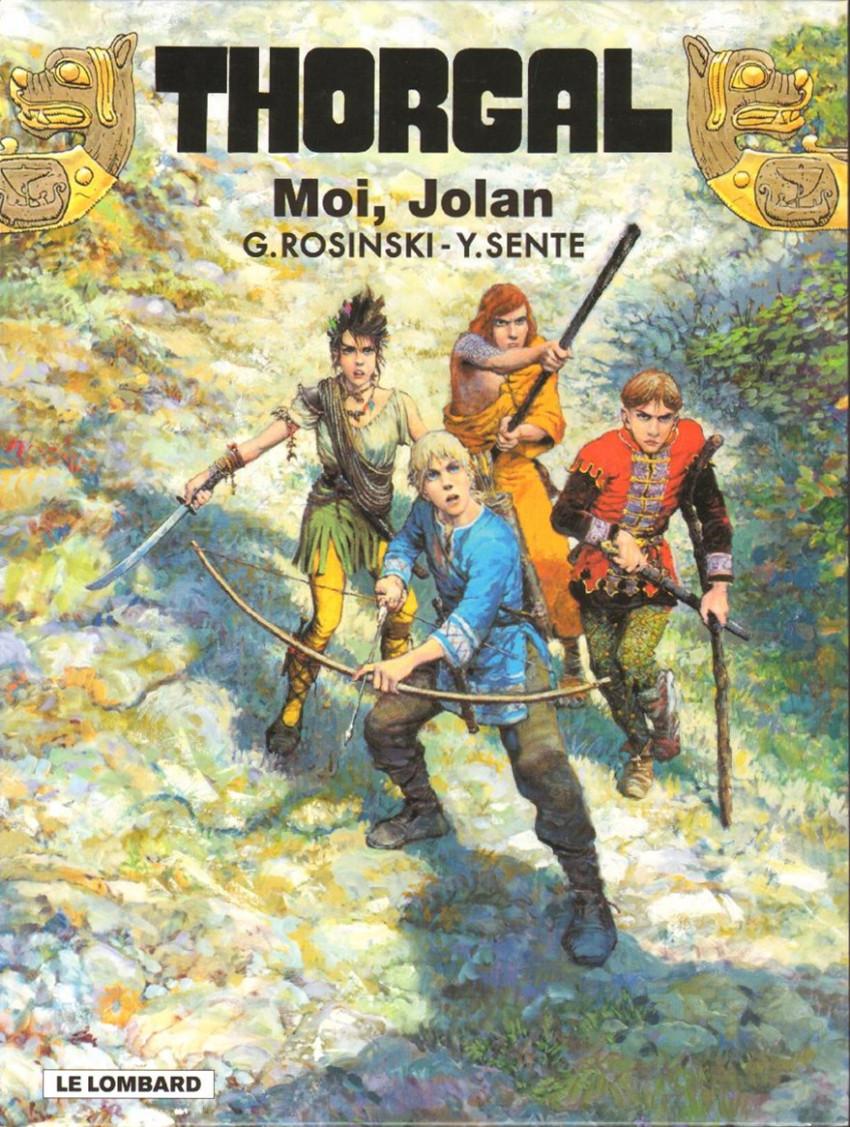 Couverture de Thorgal -30- Moi, Jolan