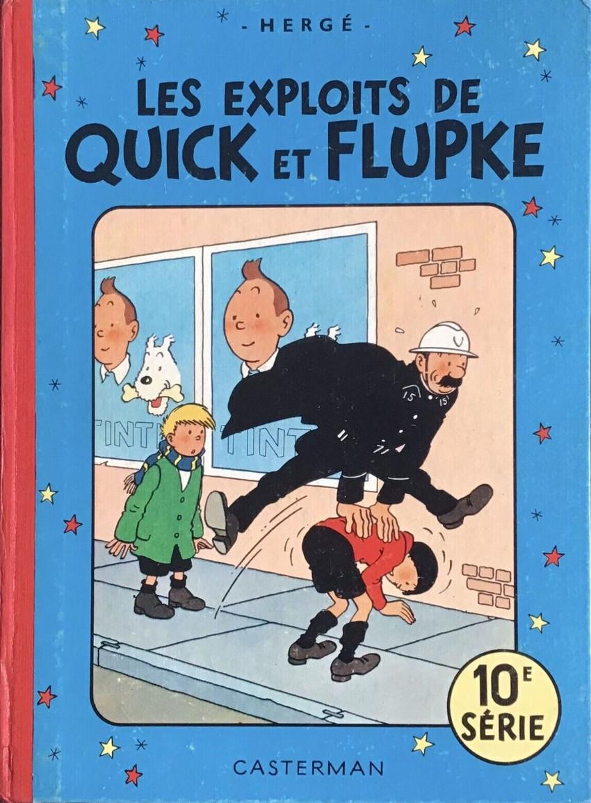 bande dessinee quick et flupke