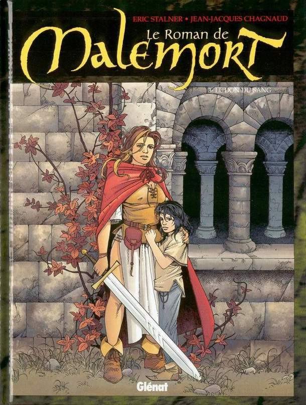 Couverture de Le roman de Malemort -3- Le don du sang