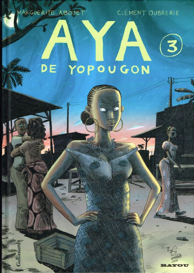 Couverture de Aya de Yopougon -3- Volume 3