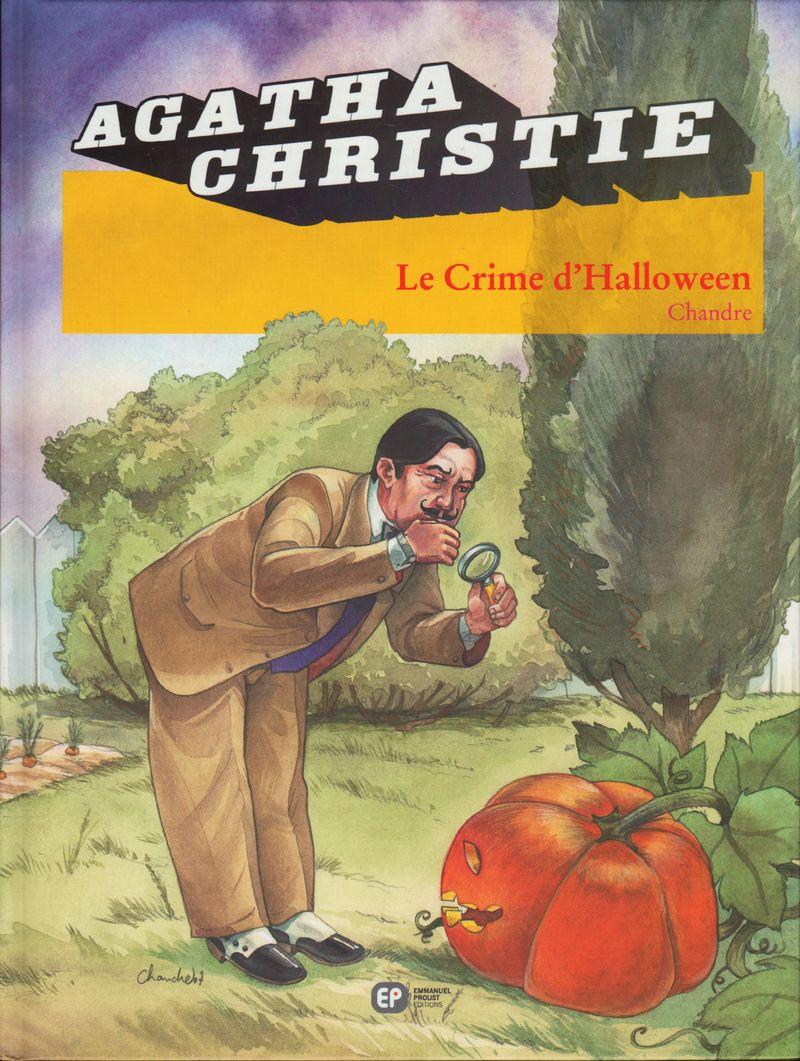 Couverture de Agatha Christie (Emmanuel Proust Éditions) -15- Le Crime d'Halloween
