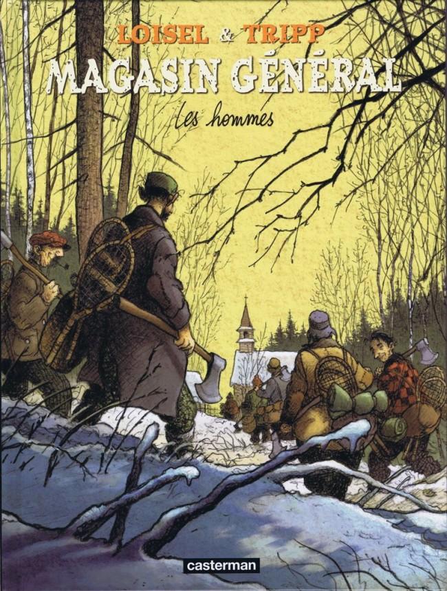 Couverture de Magasin général -3- Les hommes