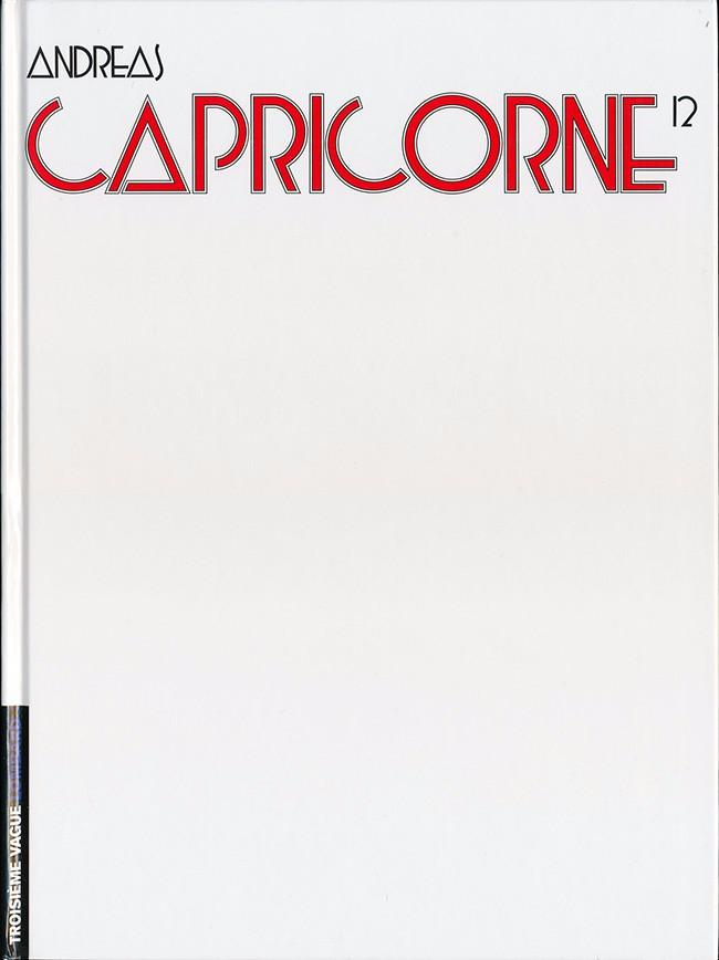 Couverture de Capricorne -12- Tome 12