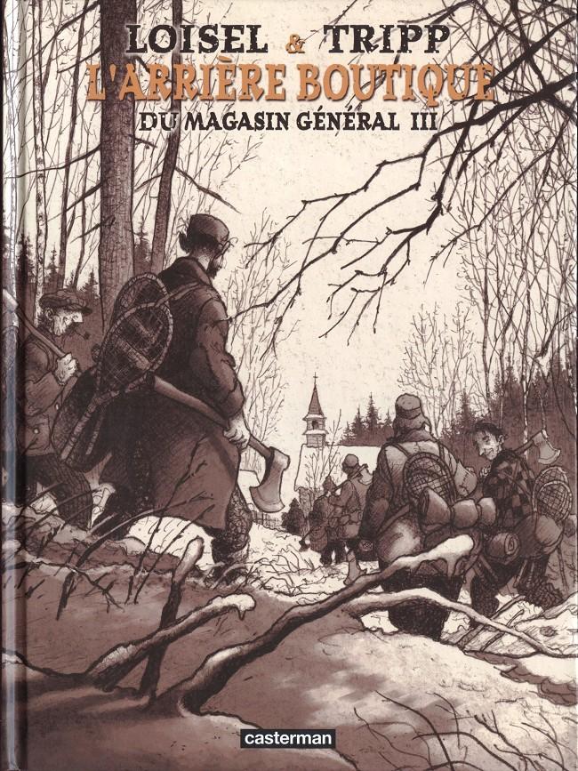 Couverture de Magasin général -HS3- L'arrière boutique du magasin général III