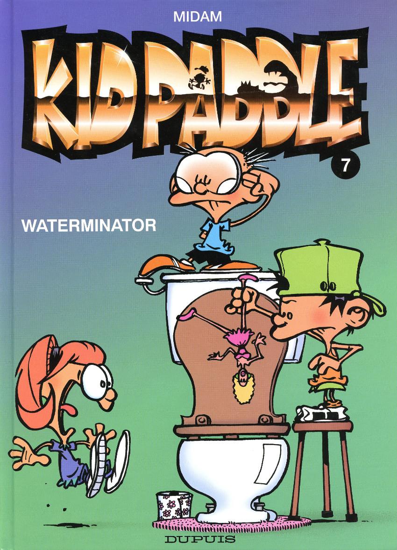Couverture de Kid Paddle -7- Waterminator