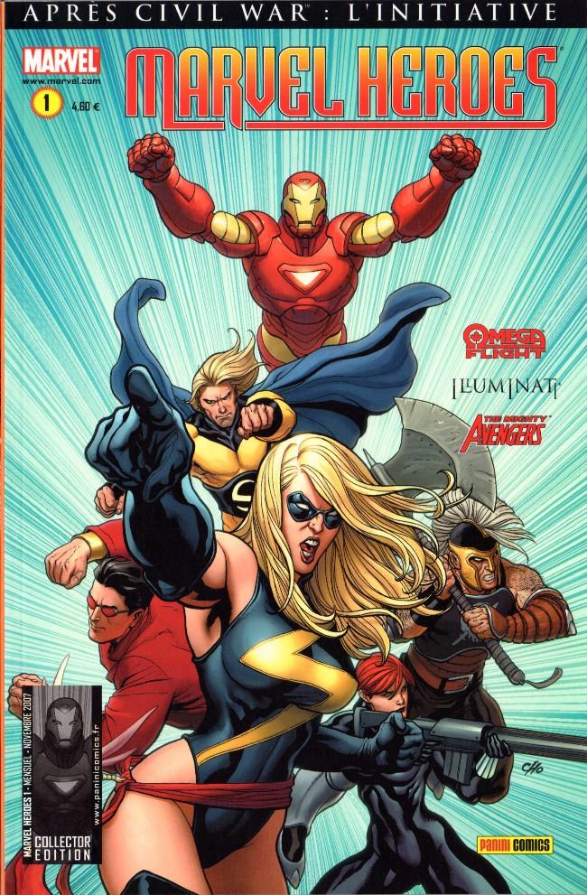 Couverture de Marvel Heroes (Marvel France - 2007) -1- Alpha et Omega