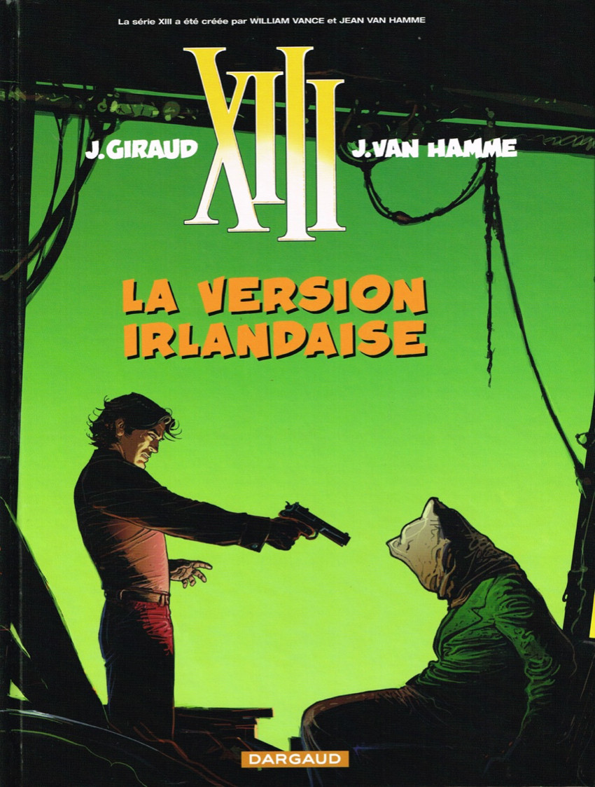 Couverture de XIII -18- La version irlandaise