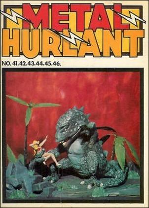 Couverture de (Recueil) Métal Hurlant -10- Recueil Métal Hurlant du N°41 au N°46
