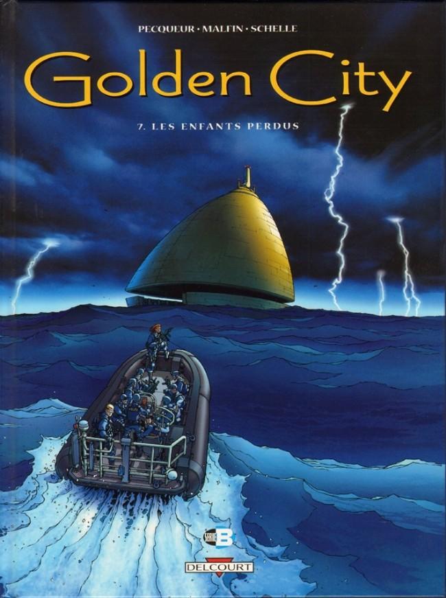 Couverture de Golden City -7- Les Enfants perdus