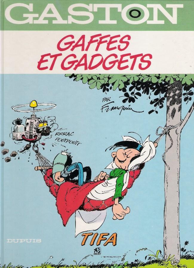 Couverture de Gaston (Hors-série) -0Pub- Gaffes et gadgets