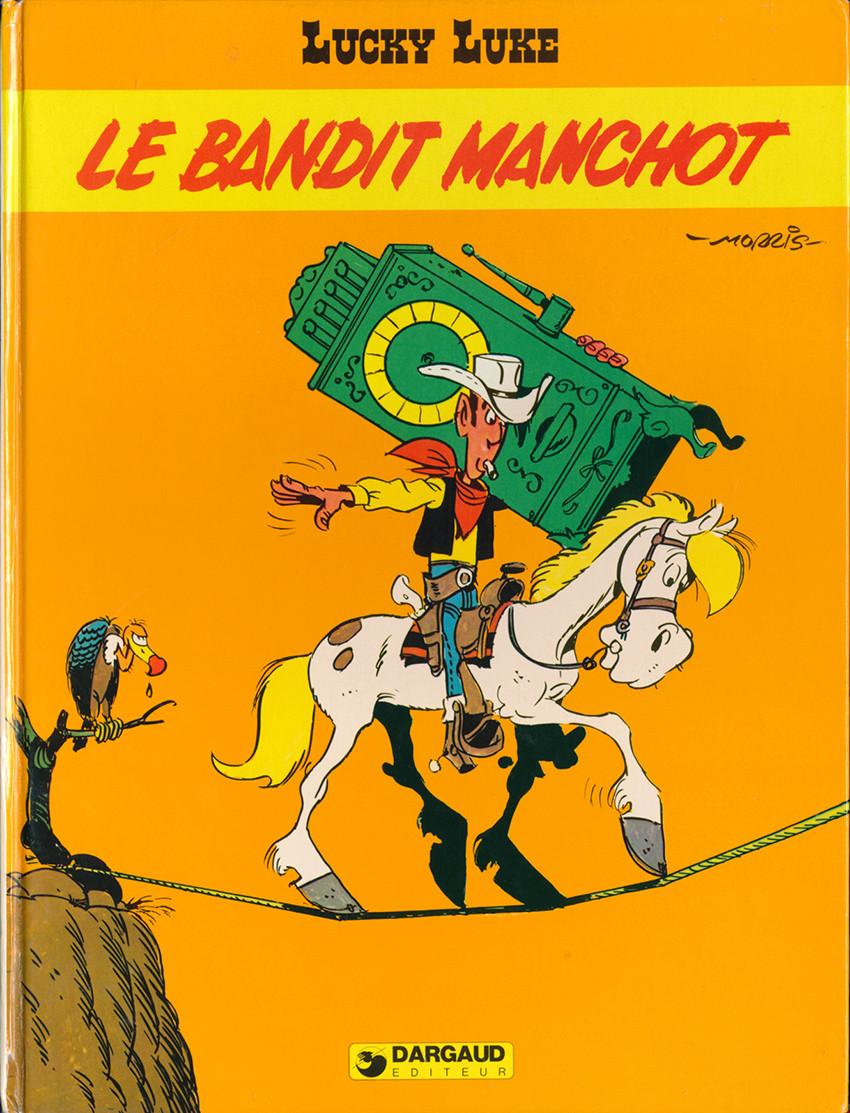 Couverture de Lucky Luke -48- Le bandit manchot