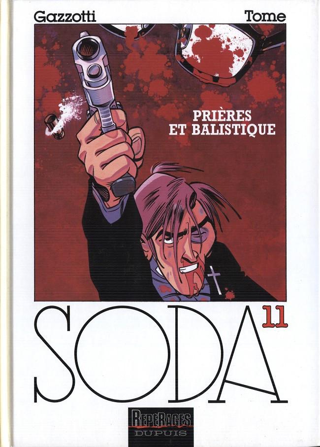 Couverture de Soda -11- Prières et balistique
