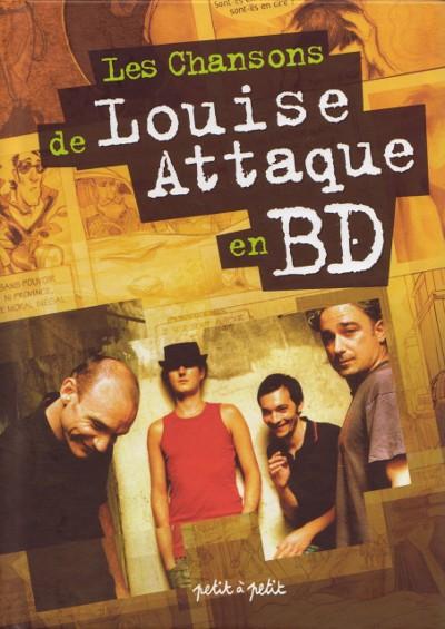Couverture de Chansons en Bandes Dessinées  - Les Chansons de Louise Attaque en BD