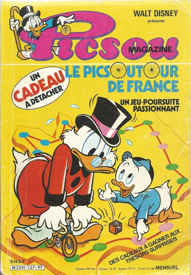 Couverture de Picsou Magazine -137- Picsou Magazine N°137