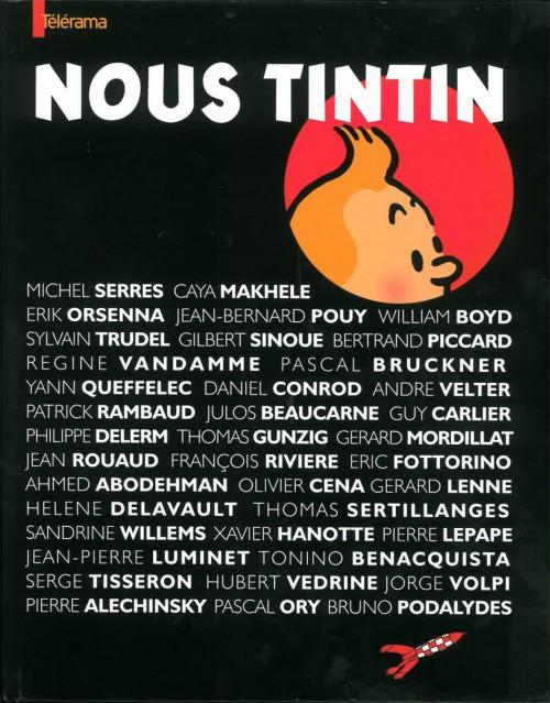 Couverture de Tintin - Divers - Nous Tintin (Télérama)