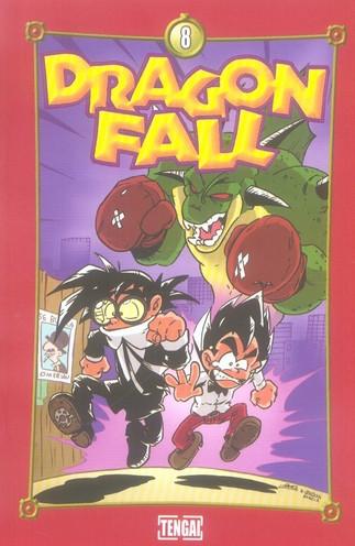 Couverture de Dragon Fall -8- Sauvons le soldat Ryan !!