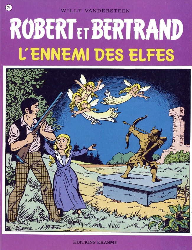 Couverture de Robert et Bertrand -25- L'ennemi des elfes