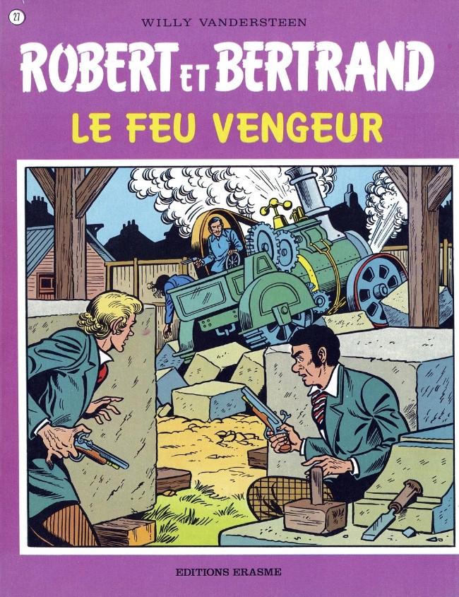 Couverture de Robert et Bertrand -27- Le feu vengeur
