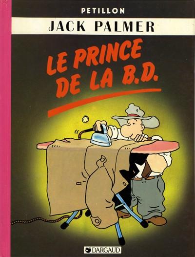 Couverture de Jack Palmer -6- Le Prince de la B.D.