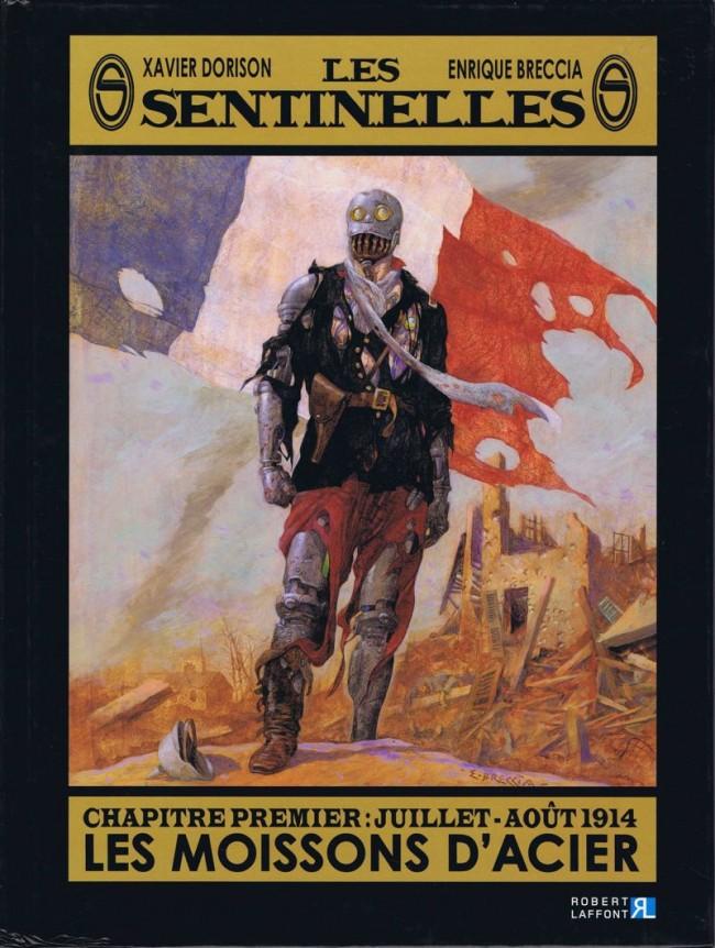 Couverture de Les sentinelles (Breccia/Dorison) -1- Chapitre premier : Juillet-août 1914 Les moissons d'acier