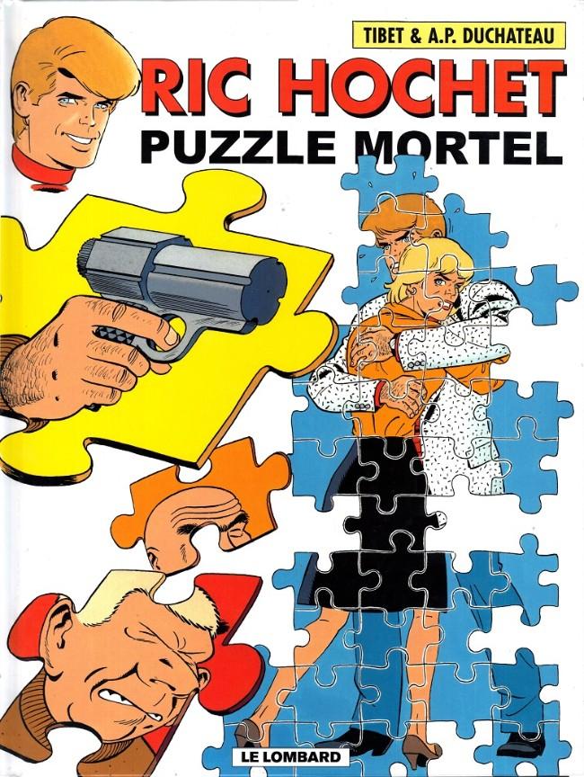 Couverture de Ric Hochet -74- Puzzle mortel