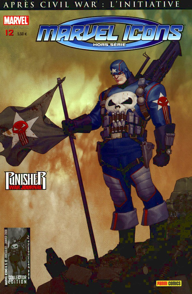 Couverture de Marvel Icons Hors Série -12- Désert de sang