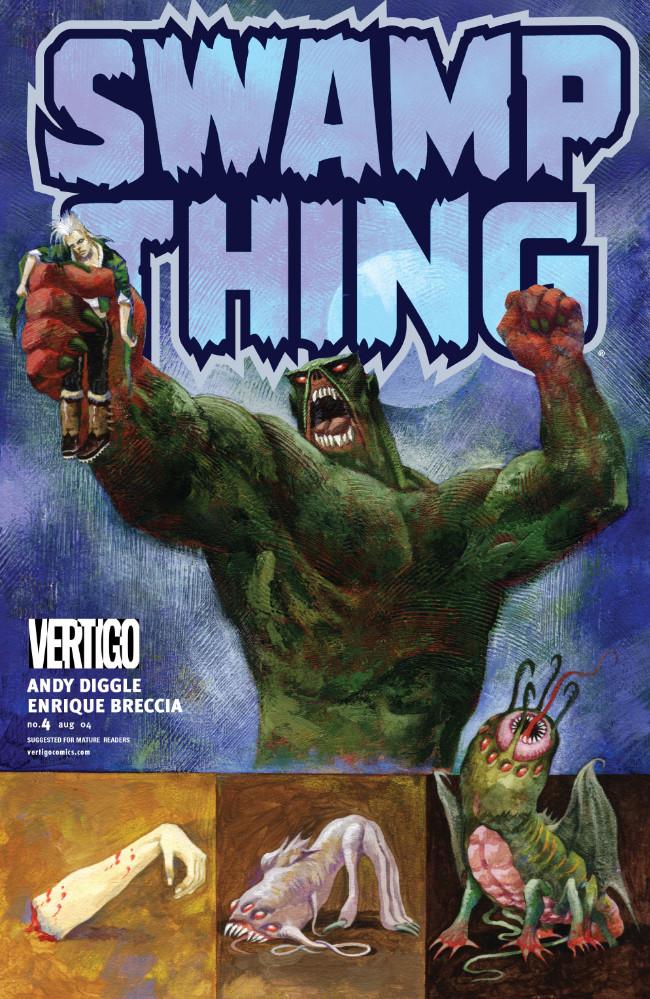 Couverture de Swamp Thing Vol.4 (DC comics - 2004) -4- (sans titre)