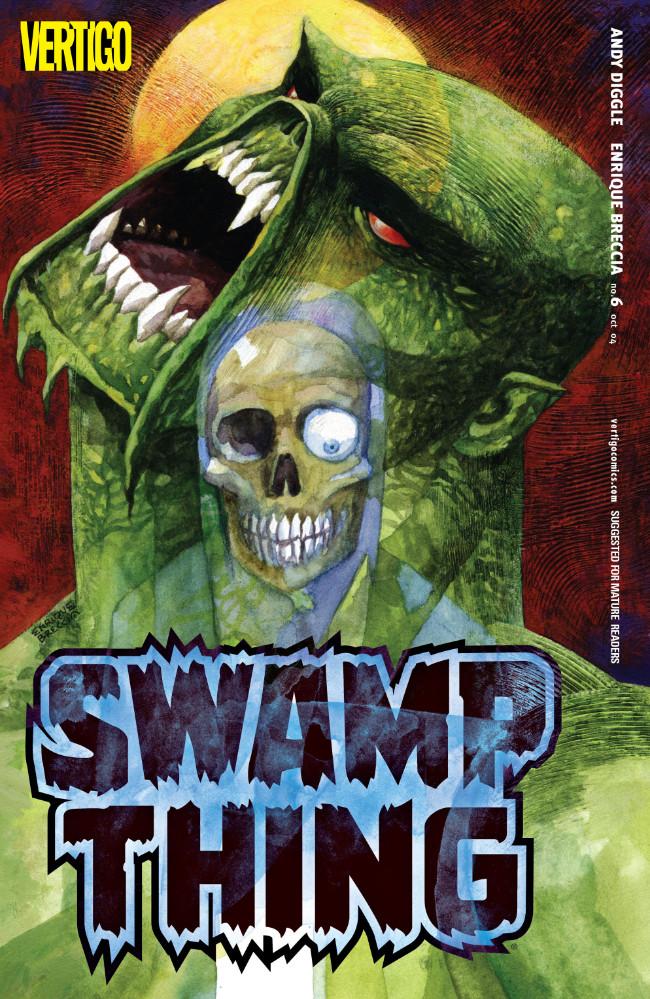 Couverture de Swamp Thing Vol.4 (DC comics - 2004) -6- (sans titre)