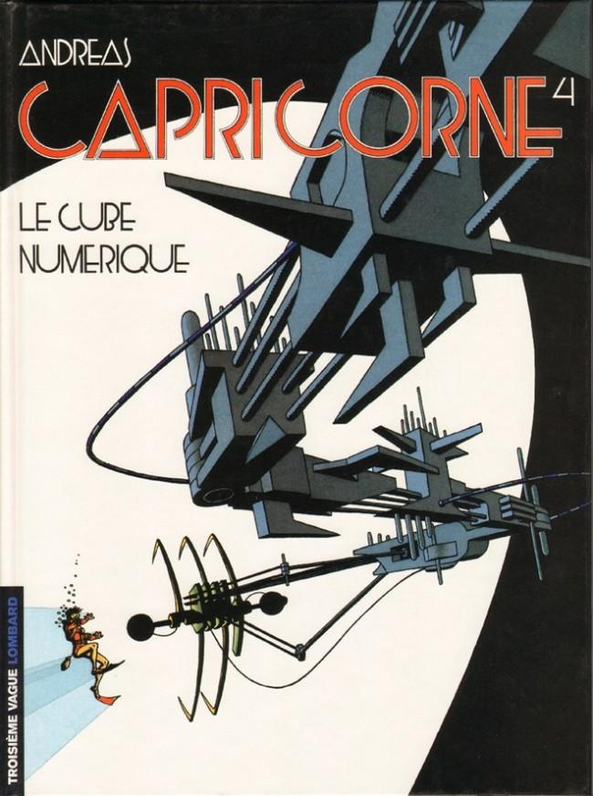 Couverture de Capricorne -4- Le cube numérique