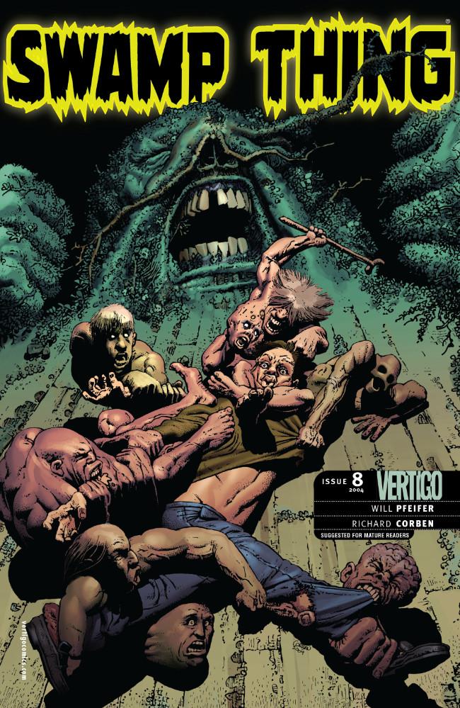Couverture de Swamp Thing Vol.4 (DC comics - 2004) -8- (sans titre)