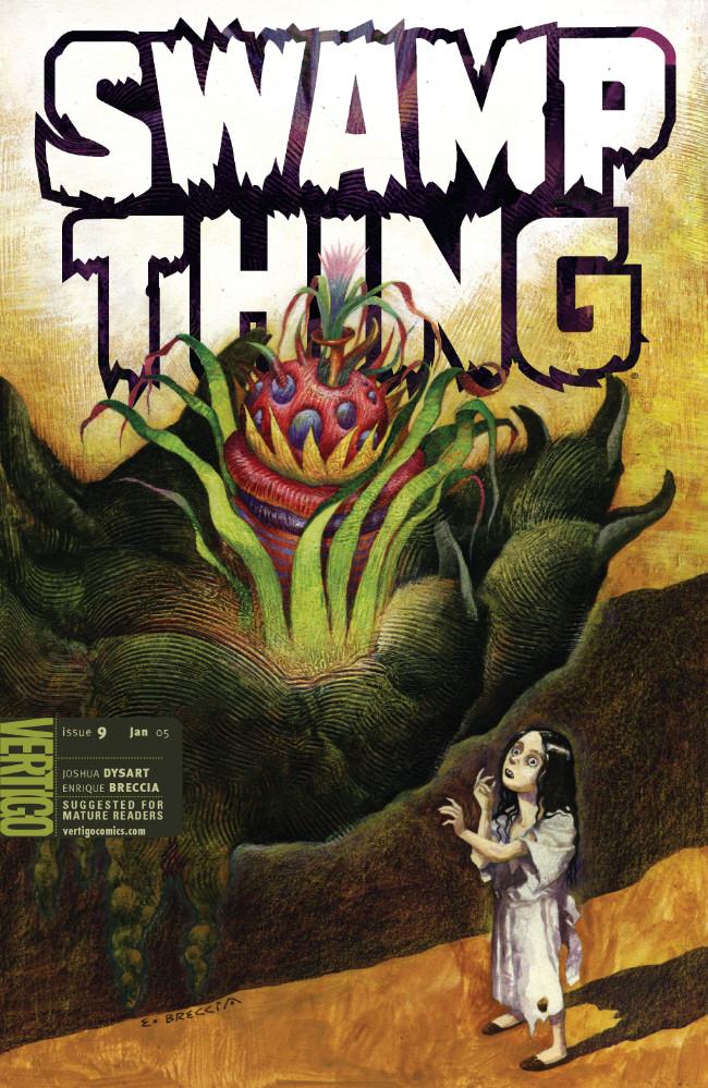 Couverture de Swamp Thing Vol.4 (DC comics - 2004) -9- (sans titre)