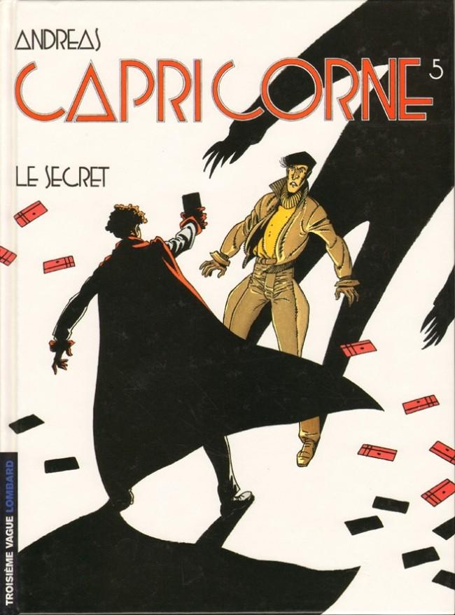Couverture de Capricorne -5- Le secret