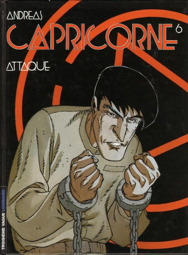 Couverture de Capricorne -6- Attaque