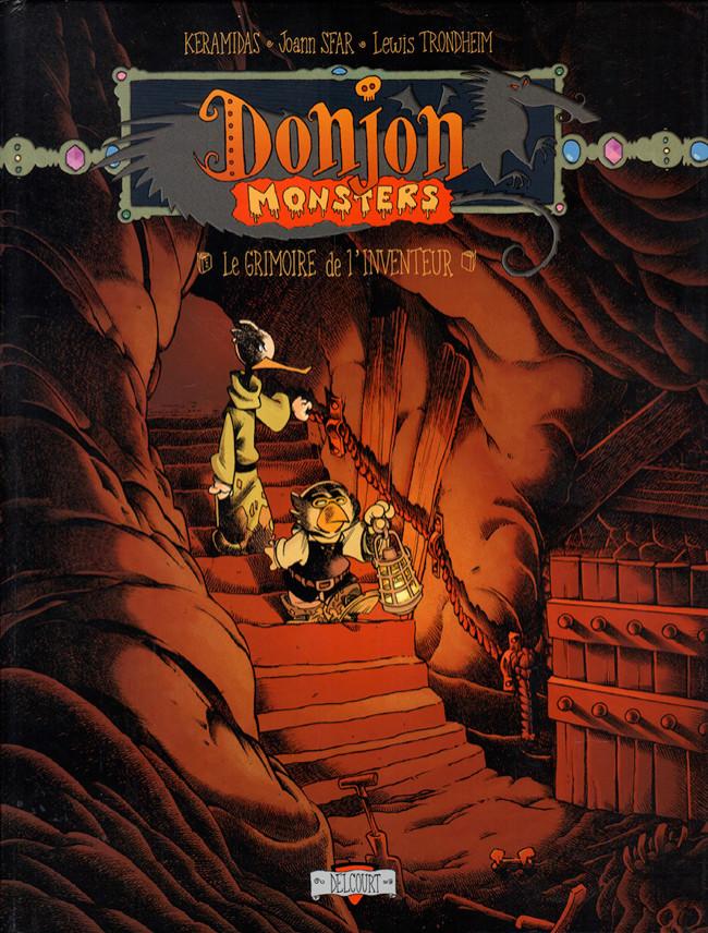 Couverture de Donjon Monsters -12- Le grimoire de l'inventeur