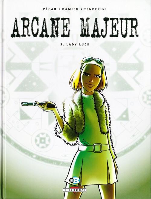 Couverture de Arcane majeur -5- Lady Luck