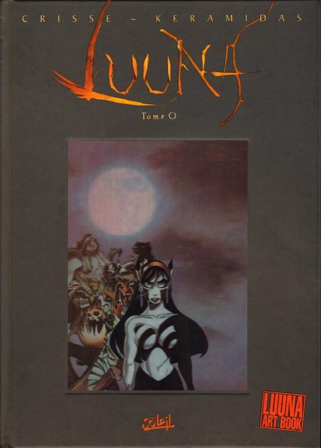 Couverture de Luuna -HS- Art book