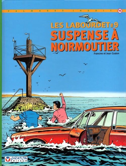 Couverture de Les labourdet -9- Suspense à Noirmoutier