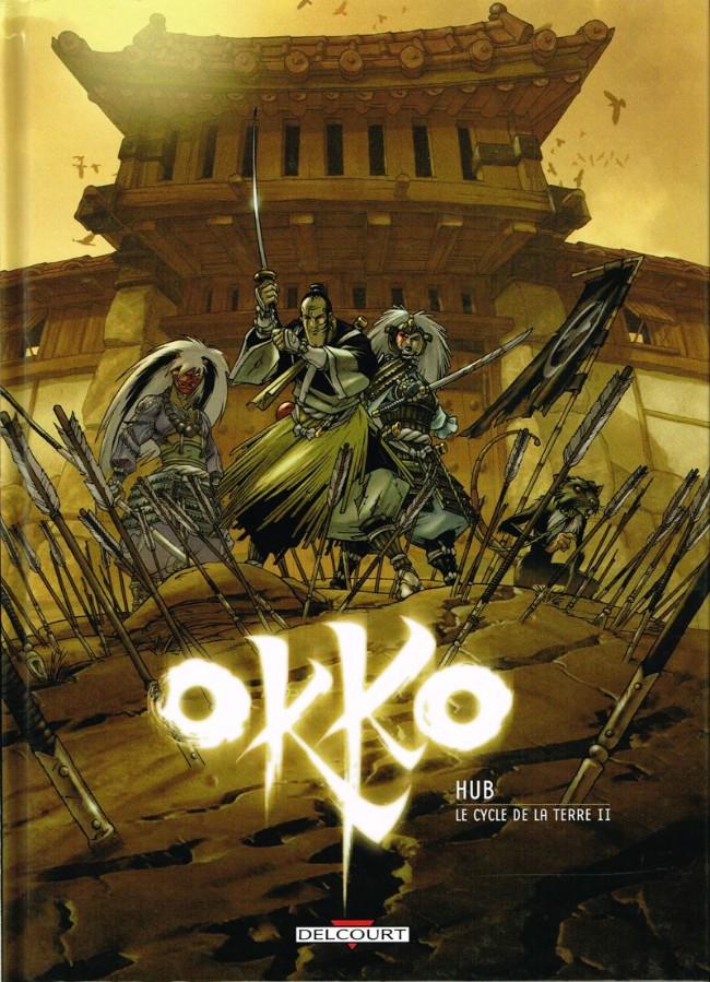Couverture de Okko -4- Le cycle de la terre II