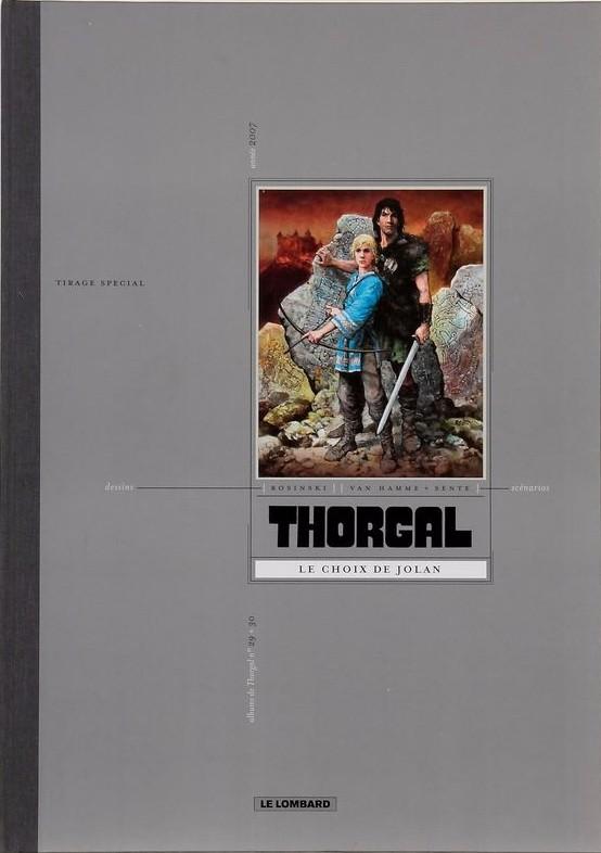 Couverture de Thorgal -INT TT- Le choix de Jolan