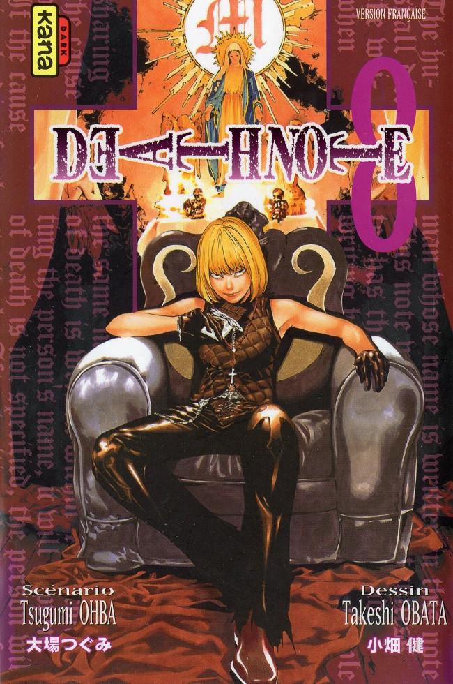 Couverture de Death Note -8- Tome 8