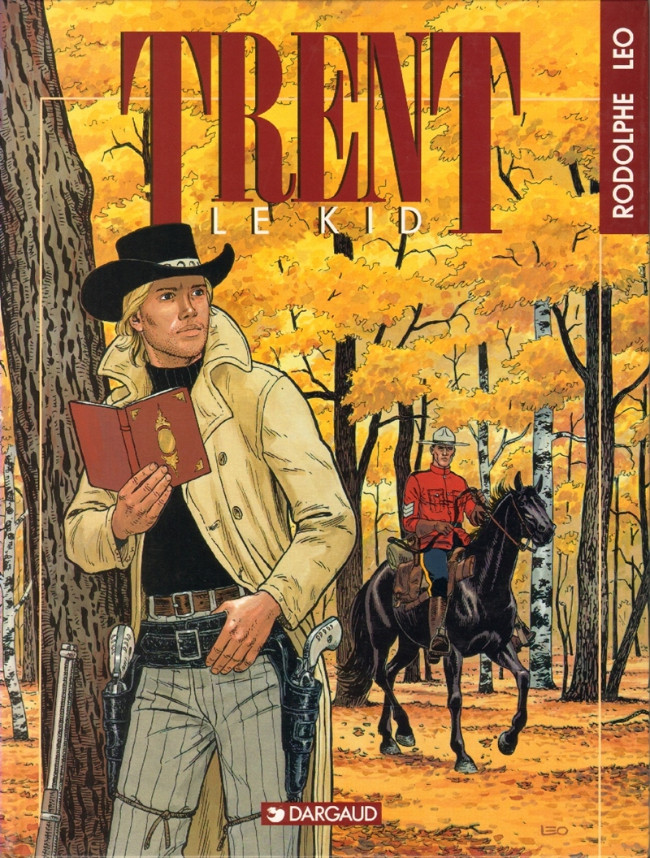 Couverture de Trent -2- Le Kid