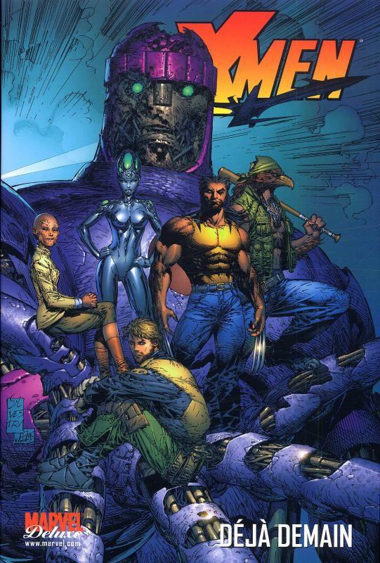 Couverture de X-Men (New) (Marvel Deluxe) -4- Déjà demain