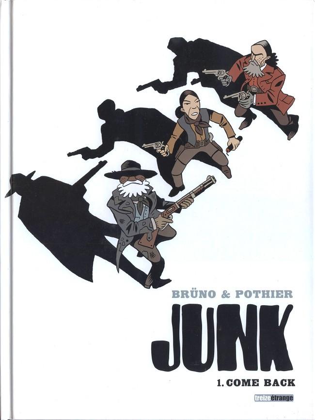 Couverture de Junk -1- Come back