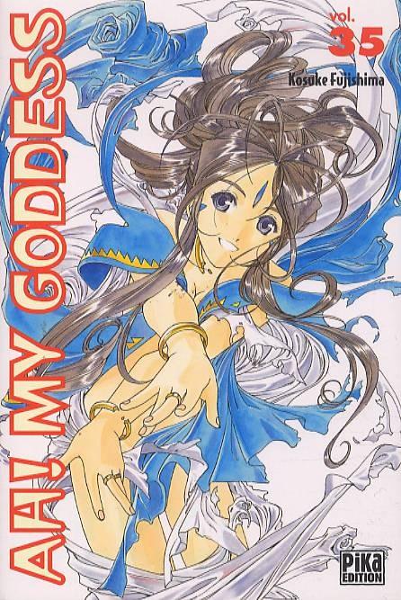 Couverture de Ah! My Goddess -35- Tome 35