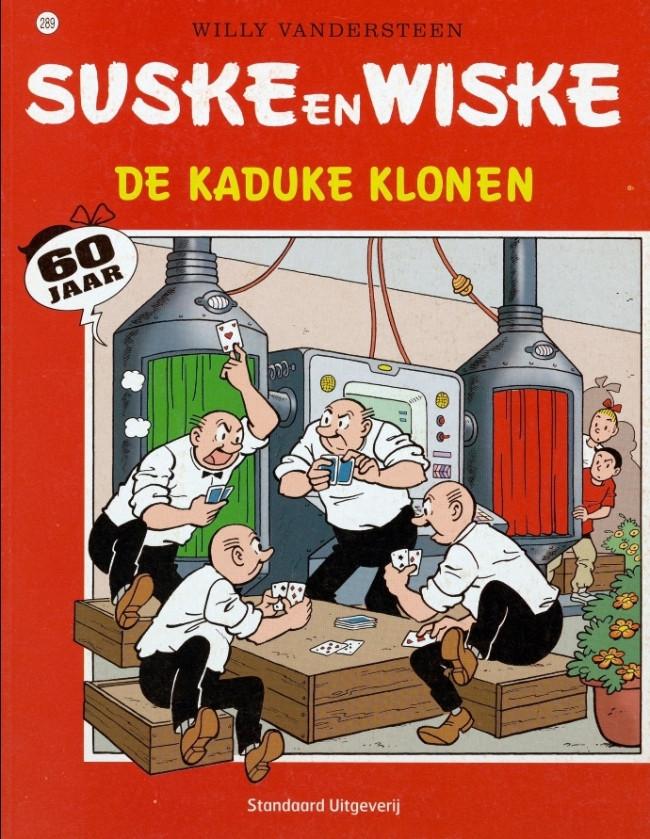 Couverture de Suske en Wiske -289- De kaduke klonen