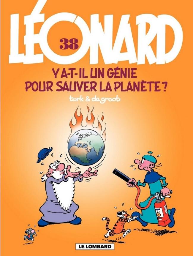 Couverture de Léonard -38- Y a-t-il un génie pour sauver la planète ?