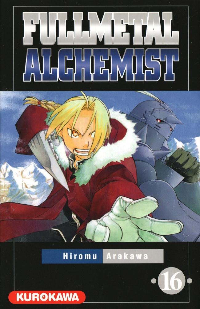 Couverture de FullMetal Alchemist -16- Tome 16