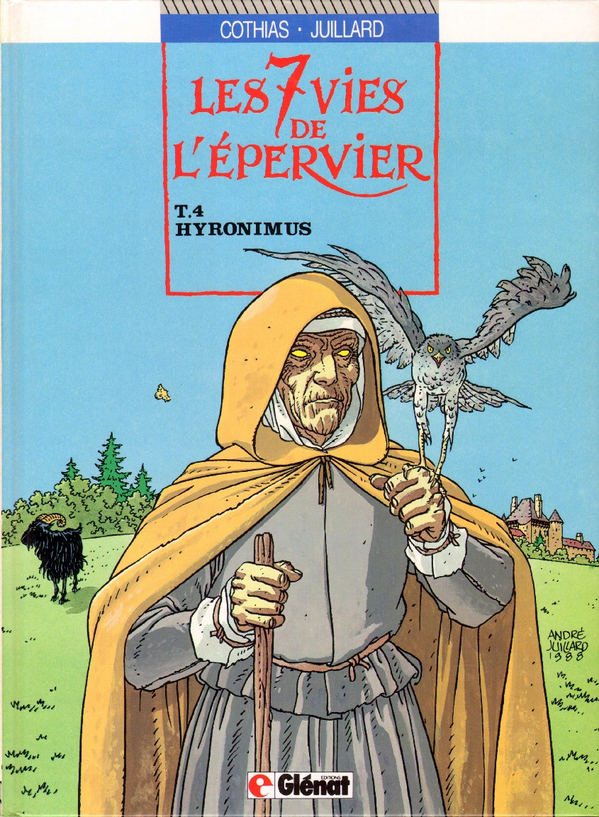 Couverture de Les 7 Vies de l'Épervier -4- Hyronimus