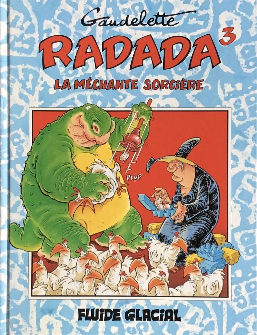 Couverture de Radada (La méchante sorcière) -3- Tome 3